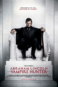 Abraham Lincoln Vampire hunter-poster