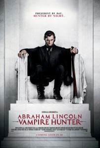 Abraham Lincoln Vampire hunter-poster