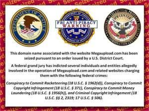 Megaupload baneada FBI