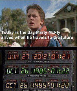 Marty McFly ha llegado desde el pasado