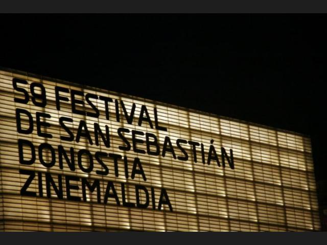 Festival San Sebastian Rotulo 59edicion
