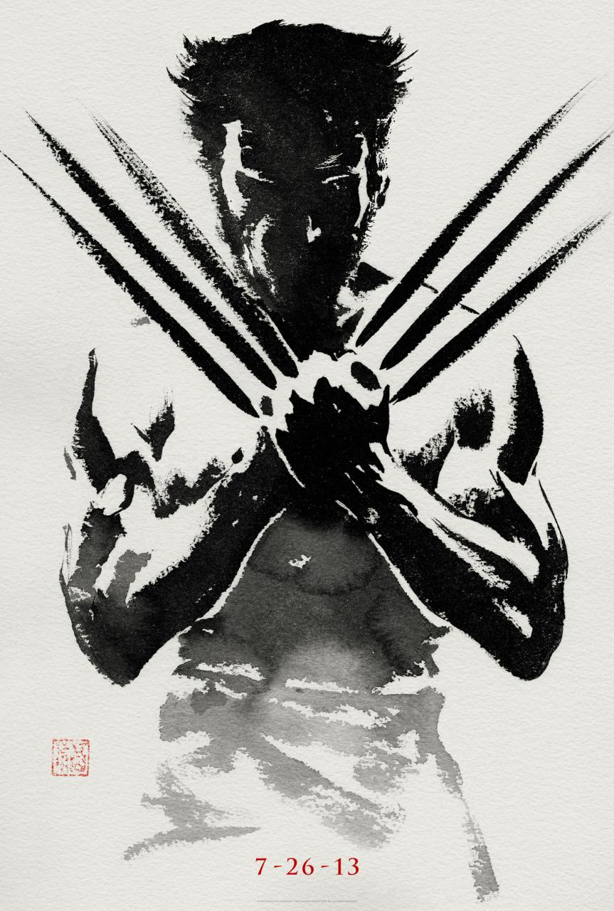 The_Wolverine_poster blanco